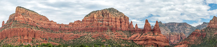 Sedona and Oak Creek Canyon Lanscapes. Red rocks of Sedona and Oak Creek Canyon stock images