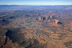 Sedona and Oak Creek Village Royalty Free Stock Photography