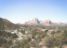 Sedona Overlook Royalty Free Stock Images