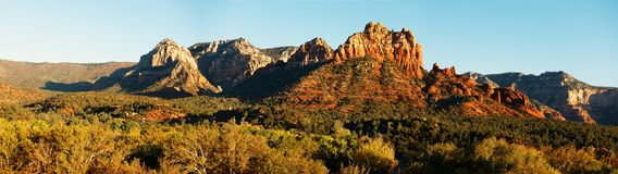 Sedona Panorama high res banner style landscape background royalty free stock images