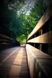 Sedona - puente rojo del parque de estado de la roca Foto de archivo libre de regalías