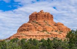 Sedona röda Arizona vaggar royaltyfri foto