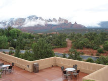 Sedona in the Rain Royalty Free Stock Photos