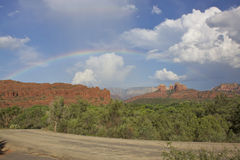 Sedona Rainbow Royalty Free Stock Image