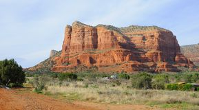Sedona Red Mountains Stock Photos