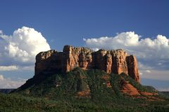 Sedona Red Rock Cliffs Royalty Free Stock Images