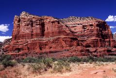 Sedona Red Rock Formation Stock Photography