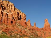 Sedona red rocks Royalty Free Stock Photography