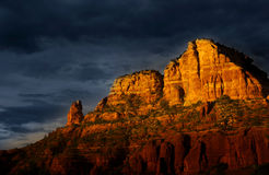 Sedona red rocks Royalty Free Stock Photo