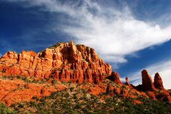 Sedona Red Rocks 2. Red rocks from Chapel of the Holy Cross Stock Image