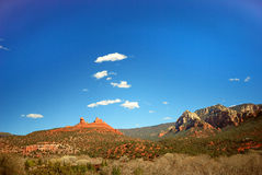 Sedona Red Rocks. Red rock landscape of Sedona Royalty Free Stock Image