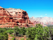 Sedona Red Rocks. Picture of the Sedona Red Rocks Stock Photo