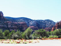 Sedona Red Rocks. Picture of the Sedona Red Rocks Royalty Free Stock Image