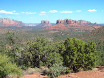 Sedona Red Rocks. Picture of the Sedona Red Rocks Stock Photos