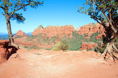 Sedona, red sandstone, az, usa Stock Image