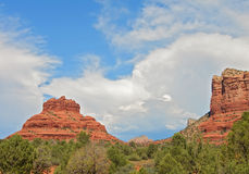 Sedona, red sandstone, az, usa Royalty Free Stock Image
