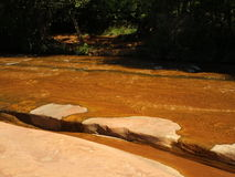 Sedona River Corssing. Sedona river crossing at crescent moon state park Stock Photo