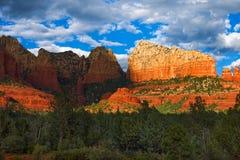 Sedona, roches de rouge de l'Arizona photographie stock libre de droits