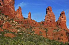 Sedona Rocks Royalty Free Stock Photos