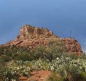 sedona rouge de roche de formation d'az photo libre de droits