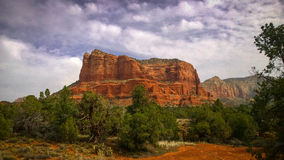Sedona's red rock country Stock Photos