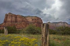 Sedona's red rocks. Stock Photography