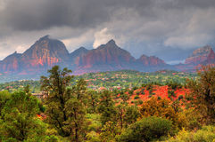 Sedona Storm Stock Photography