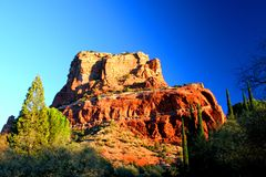 Sedona Sunrise 2. Winter sunrise in Sedona, Arizona Royalty Free Stock Image