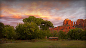 Sedona Sunset Stock Images