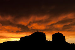 Sedona sunset Stock Photography