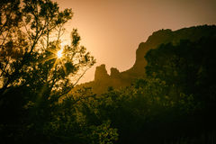 Free Sedona Sunset Rock Formation Landscape Royalty Free Stock Photo - 65058415