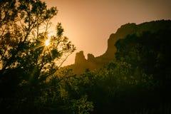 Sedona Sunset Rock Formation Landscape Royalty Free Stock Photo