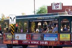 Sedona trolley Stock Photo