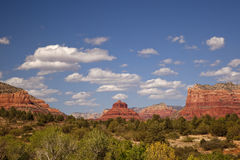 Sedona Valley Arizona Stock Image