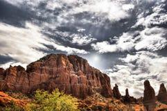 Sedona vermelho o Arizona do país da rocha imagens de stock