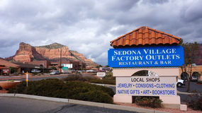 Sedona Village Factory Outlets. Royalty Free Stock Photography