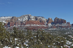 Sedona Winter Landscape Stock Photos
