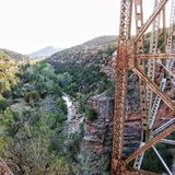 Sedons桥梁 库存照片