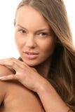 Seducing woman royalty free stock image