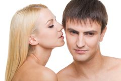 Seduction Royalty Free Stock Photography