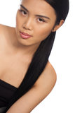 Seductive beautiful Asian woman Royalty Free Stock Photo