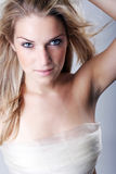 Seductive beautiful woman stock images