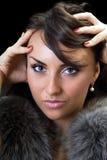 Seductive brunette Royalty Free Stock Image