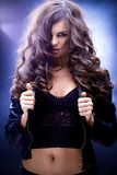 Seductive brunette Royalty Free Stock Photography