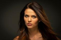 Seductive brunette woman Royalty Free Stock Photography