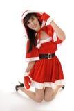 Seductive Christmas beauty Royalty Free Stock Photos