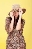 Seductive elegant woman Royalty Free Stock Photos