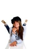 Seductive fashionable woman Stock Photography