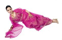Seductive Full Length Bride Stock Images