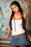 Seductive girl Royalty Free Stock Photo
